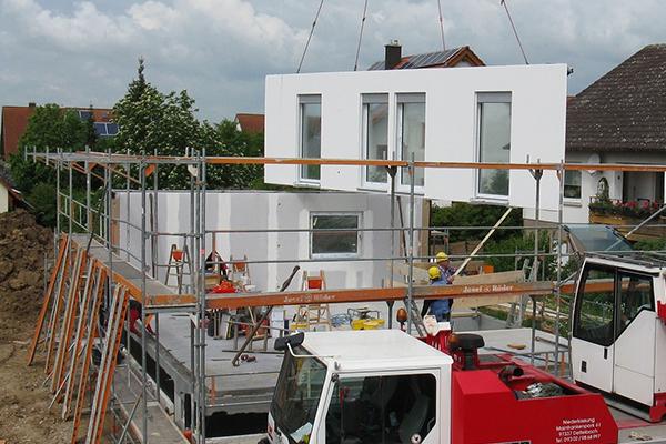 Zdjęcie budowy domu