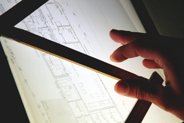 Architekt przy pracy